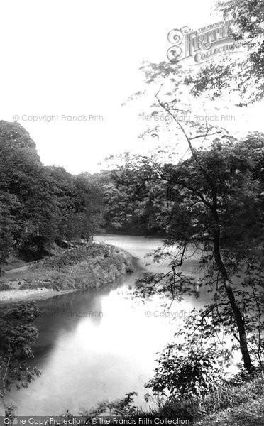 Photo of Durham, View Near Prebend's Bridge c.1883