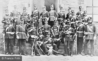 Durham, Warrant Officers and Sergeants, 2nd North Durham Militia, Gilsgate 1874