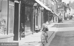 Dursley, Bicycle, Parsonage Street c.1947