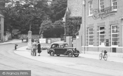 Dursley, Car At The Post Office c.1950