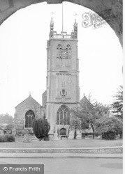 Dursley, Church From Town Hall c.1935