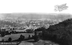 Dursley, From Stinchcombe Hill 1900