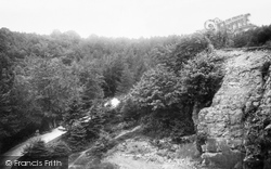 Dursley, Quarry And Roadway Up Stinchcombe Hill 1904
