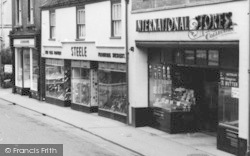 Dursley, Shops In Parsonage Street c.1965