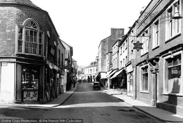 Photo of Dursley, Silver Street c1947