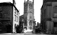 Dursley, St James the Great Church c1955