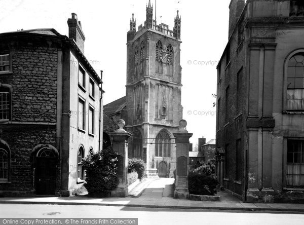 Photo of Dursley, St James the Great Church c1955