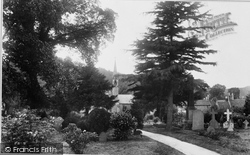 Dursley, St Mark's Cemetery 1900