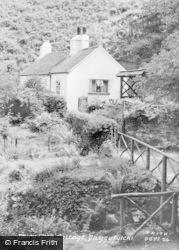 Dwygyfylchi, Fairy Glen Cottage c.1955