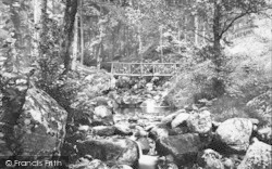Dwygyfylchi, Fairy Glen, The Bridge 1887