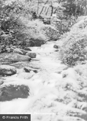 Dwygyfylchi, The Fairy Glen c.1955