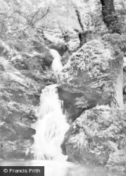 Dwygyfylchi, The Falls, Fairy Glen c.1955
