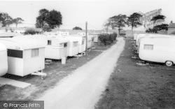 Dwygyfylchi, The Gardens Caravan Site c.1960