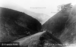 Dwygyfylchi, The Pass Of Sychnant, Looking West c.1930