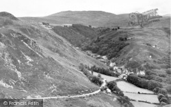 Dwygyfylchi, The Sychnant Pass And Fairy Glen c.1960