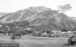 Dwygyfylchi, View From Golf Links c.1955