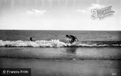 Bathing c.1935, Dyffryn Ardudwy