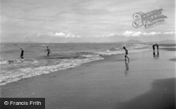 Bathing On The Beach 1951, Dyffryn Ardudwy