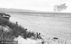 Dyffryn Ardudwy, Beach From The Sand Hills 1955