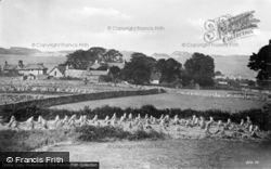 Harvest Time Looking West c.1935, Dyffryn Ardudwy