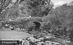 Pont Fadog Bridge c.1954, Dyffryn Ardudwy