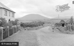 Dyffryn Ardudwy, Road Leading To Dyffryn Seaside Estate 1951
