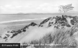 Dyffryn Ardudwy, Snowdon Range And Sea Shore c.1955