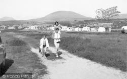 Dyffryn Ardudwy, The Caravan Site 1955