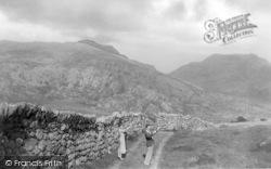 Dyffryn Ardudwy, The Gaps From Nantcol Road c.1930