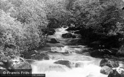 Ysgethin River Near Pont Fadog c.1935, Dyffryn Ardudwy