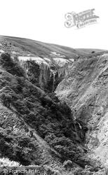 Dylife, Pennant Falls c.1955