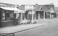 Dymchurch, Car Park Sign 1927