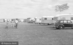 Dymchurch, Pipers Caravan Site c.1955