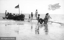 Dymchurch, Pleasure Boat, The Sands c.1955