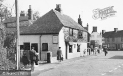 Dymchurch, Tea House, Mill Road c.1955