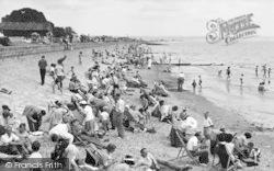 Dymchurch, The Beach c.1955