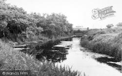 Dymchurch, The River And Bridge c.1955