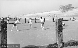 Dymchurch, The Sands And Bathers c.1960