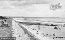 Dymchurch, The Seafront And Sands c.1955