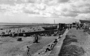 Dymchurch, the Seafront c1955
