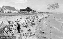 Dymchurch, The Seaside c.1955