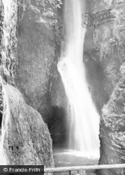Foot Of The Falls c.1930, Dyserth