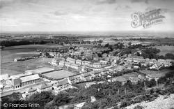 General View From Foel Hiraddug c.1960, Dyserth