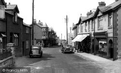 Dyserth, High Street c.1955