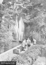 Dyserth, The Falls c.1955