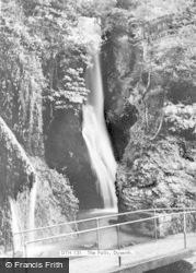 Dyserth, The Falls c.1965