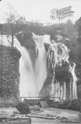 Dyserth, The Falls In Flood c.1950
