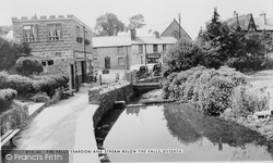The Falls Tea Room And Stream Below The Falls c.1955, Dyserth
