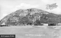 Dyserth, The School Camp c.1955