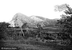 Dysynni Valley, Bird Rock 1892